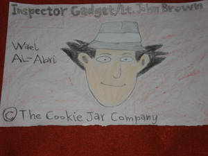 A drawing for Inspector Gadget