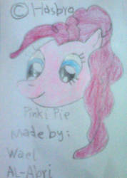 Pinkie smiling by Wael-sa