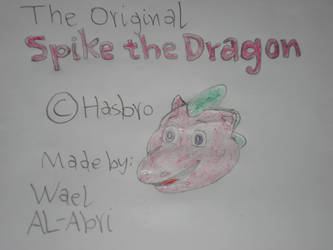 Original Spike Dragon by Wael-sa