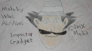 Inspector Gadget with a mustache by Wael-sa