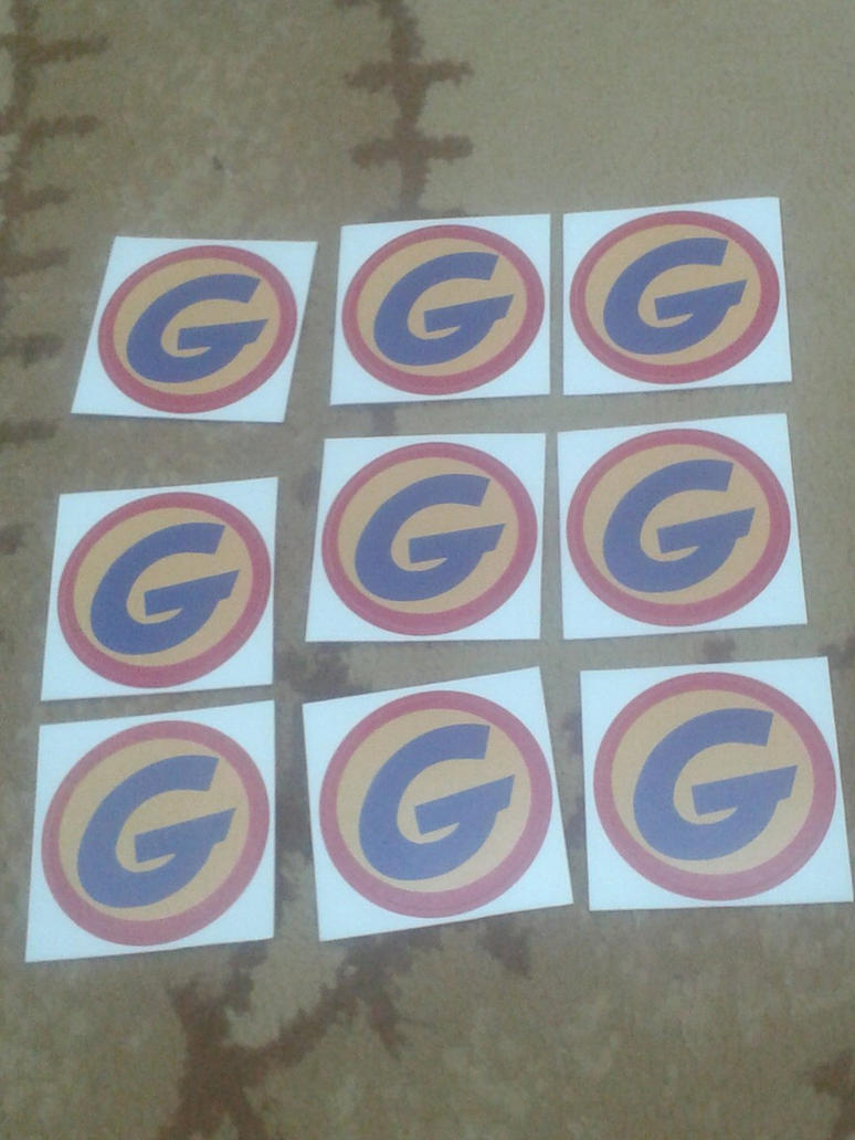 New Team Gadget's stickers by Wael-sa