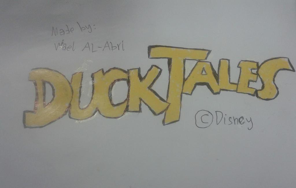 DuckTales' logo by Wael-sa