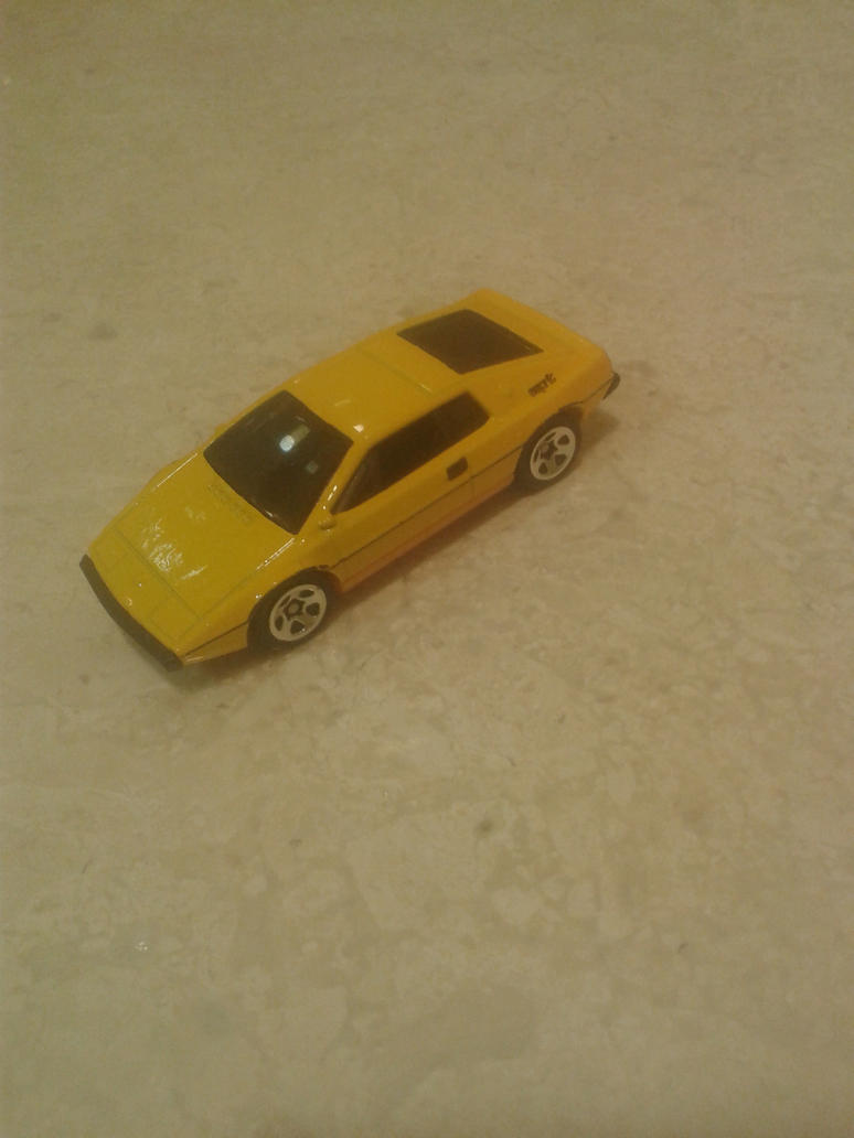 Lotus Esprit S1 from Hot Wheels on the go by Wael-sa