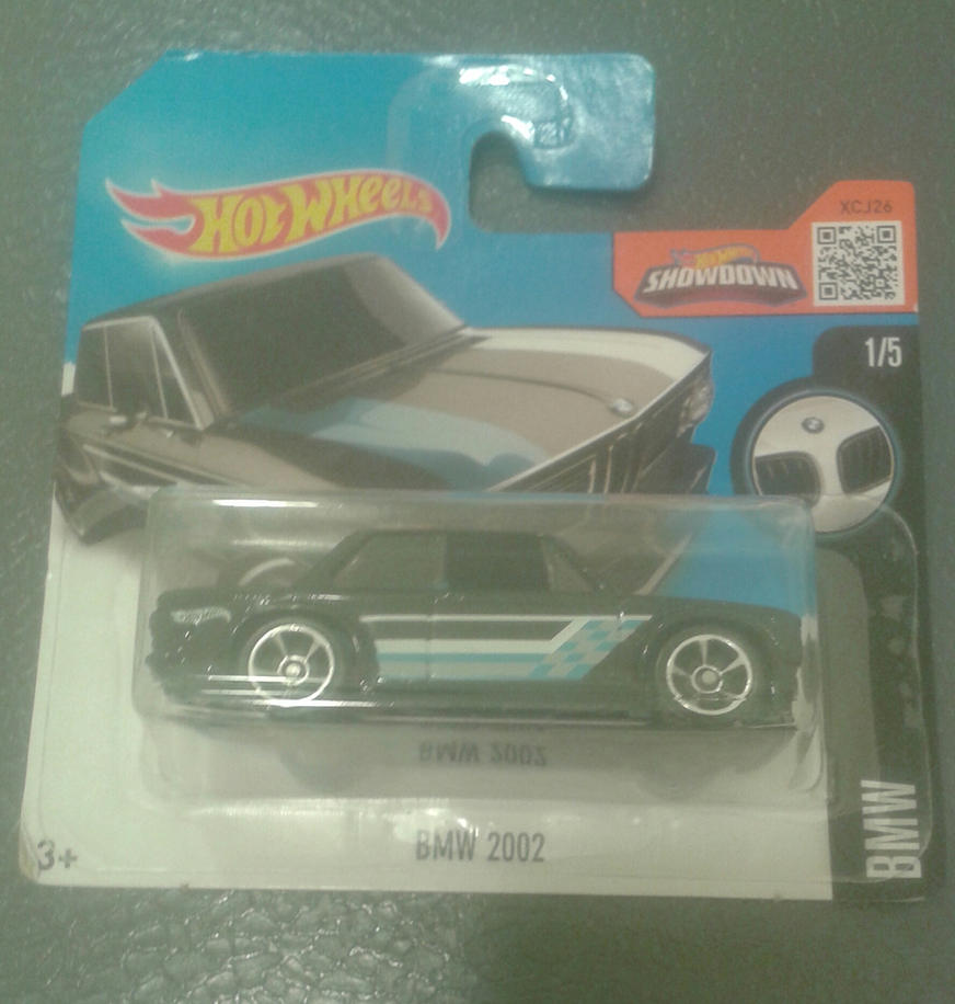 BMW 2002 from Hot Wheels (in package) by Wael-sa