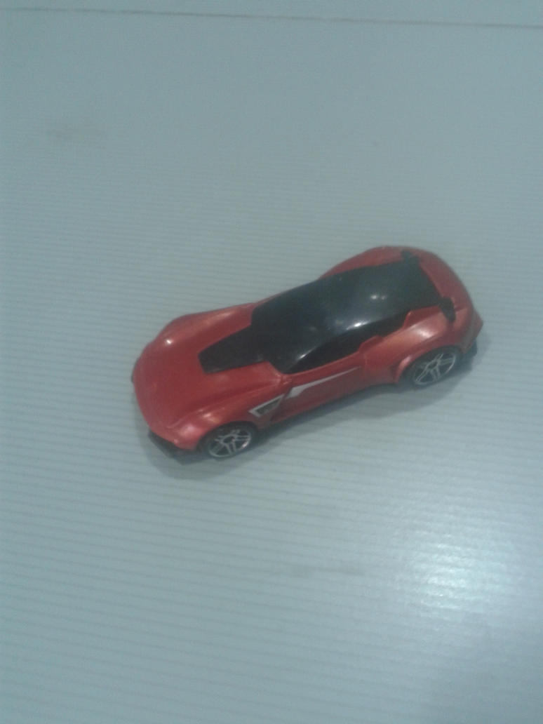 Gazella GT from Hot Wheels on the go (red) by Wael-sa