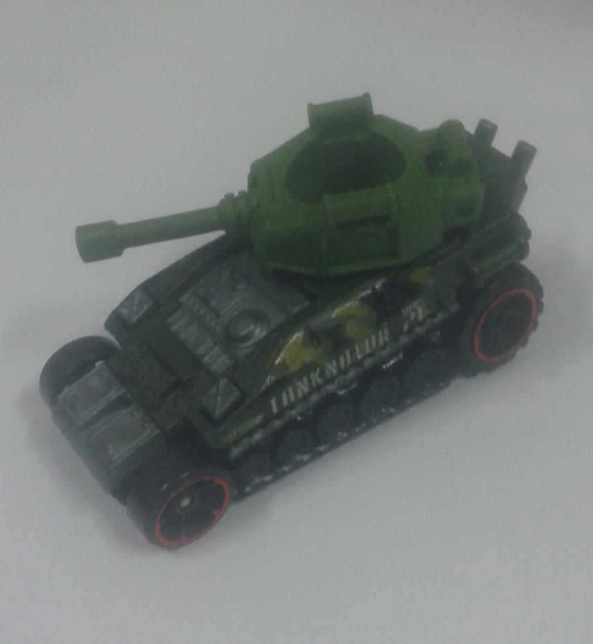 Tanknator from Hot Wheels in action by Wael-sa