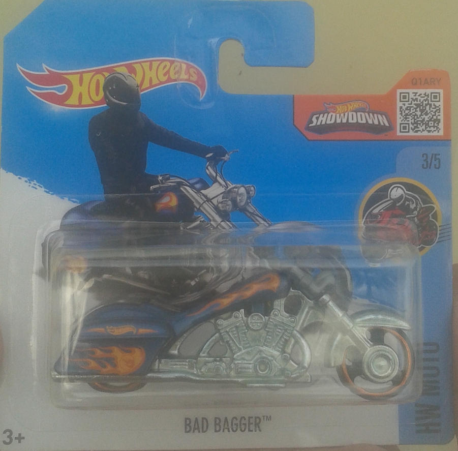 Bad Bagger from Hot Wheels (in package) by Wael-sa