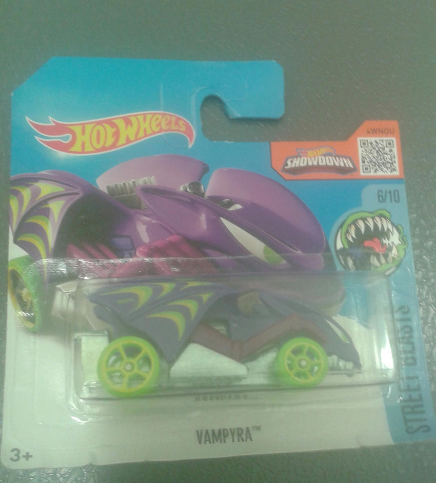 Vampyra from Hot Wheels (in package) by Wael-sa