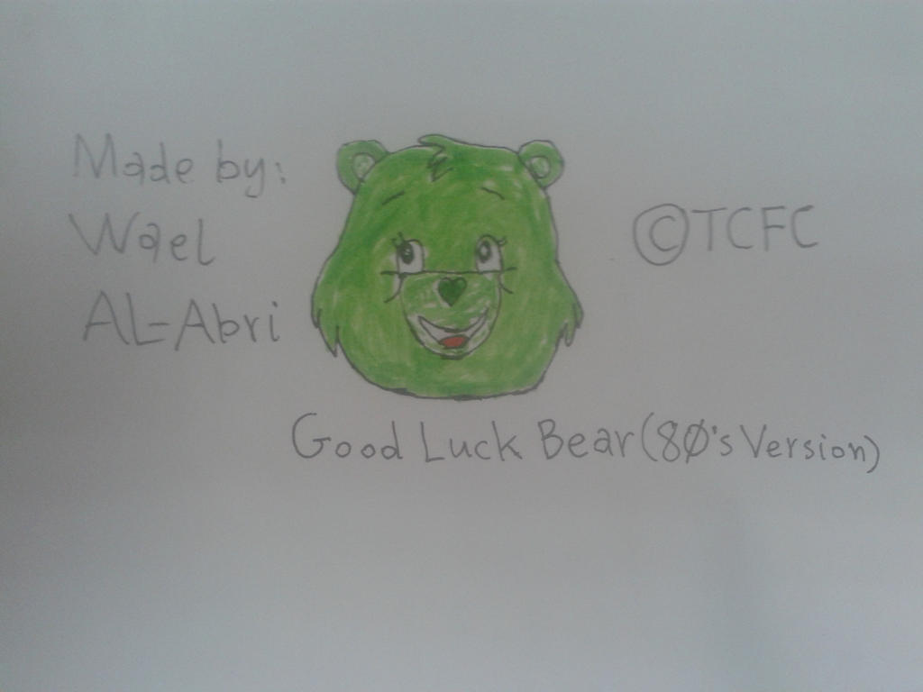 The Original Good Luck Bear by Wael-sa