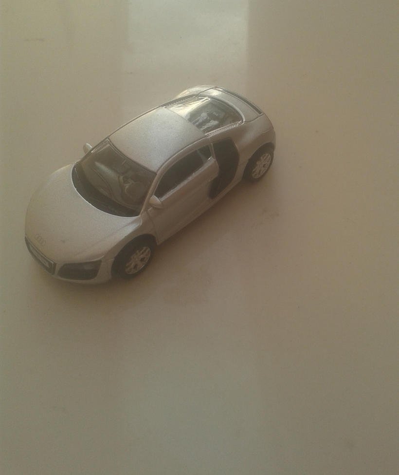 Audi R8 from Uni-Fortune (grey version) by Wael-sa