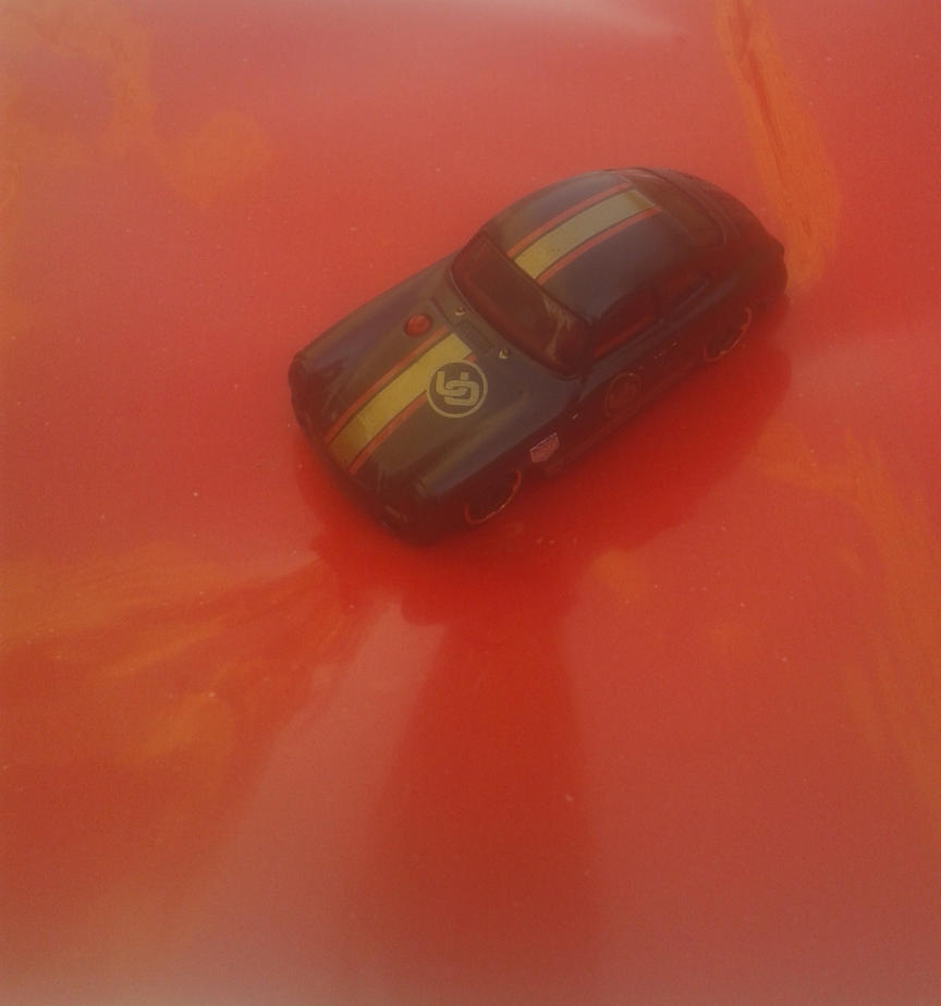 Porsche 356A Outlaw from Hot Wheels on the go by Wael-sa