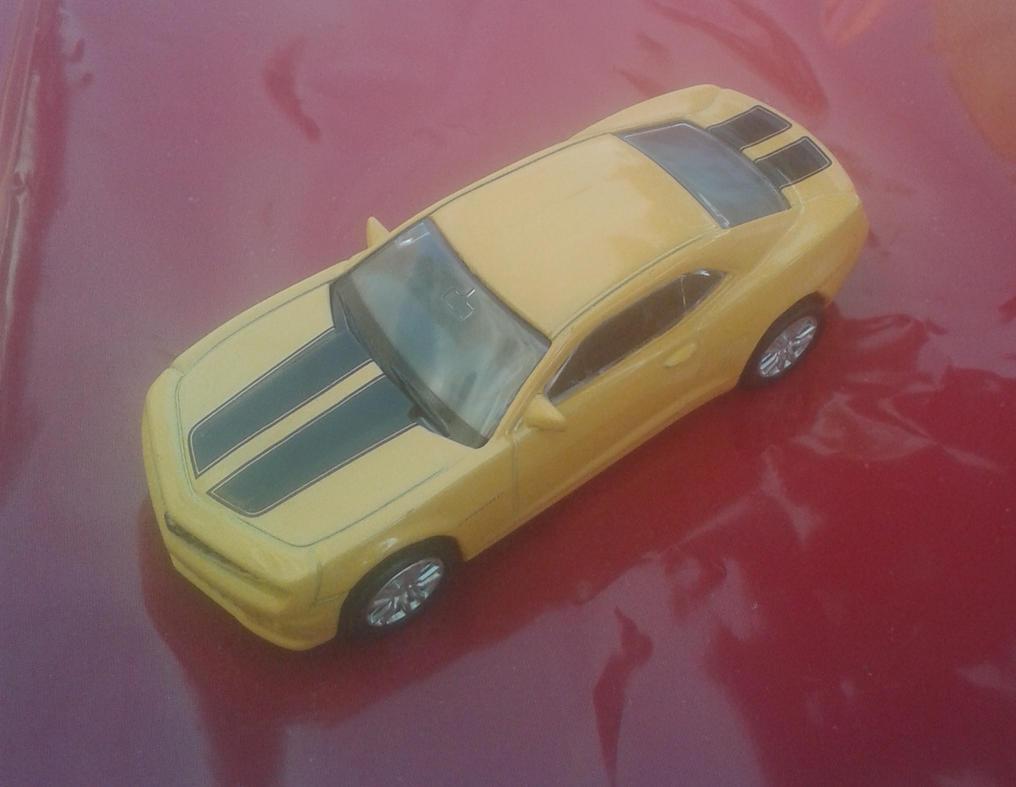 Chevrolet Camaro from Uni-Fortune (yellow version) by Wael-sa