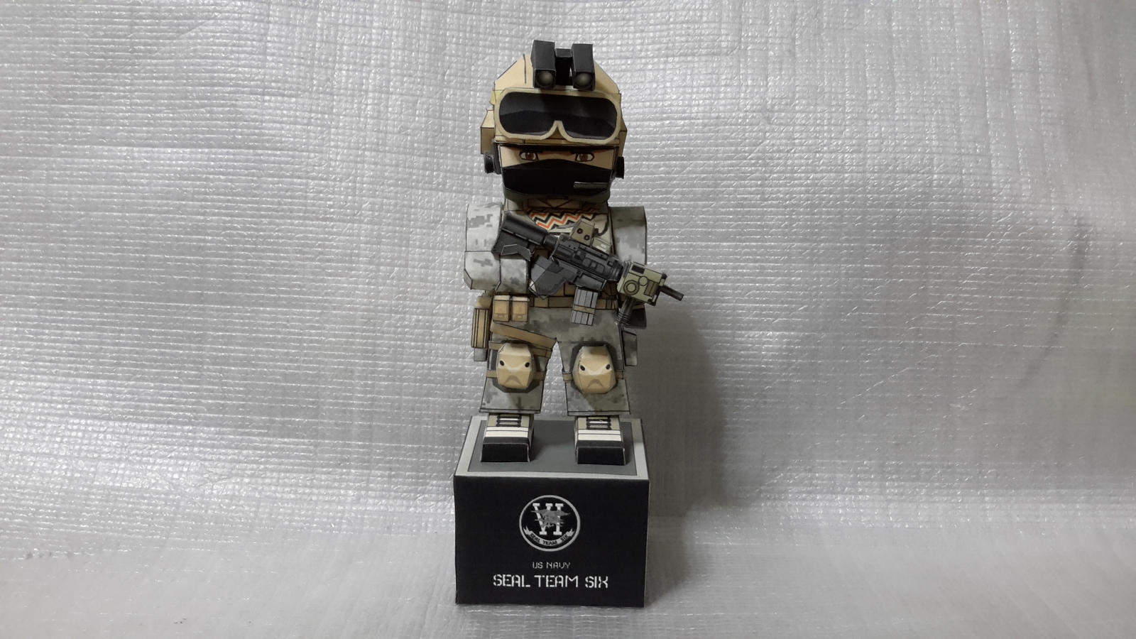 US Navy SEAL Team Six Papercraft by Mironius on DeviantArt