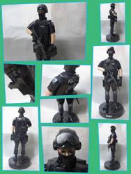 SWAT Papercraft by Mironius
