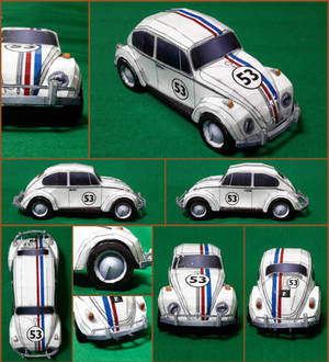 VW Herbie Papercraft