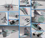 MiG 29 UB Papercraft by Mironius