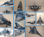 Mirage 2000 GR Papercraft by Mironius