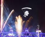 Princess Celestia Parachuting