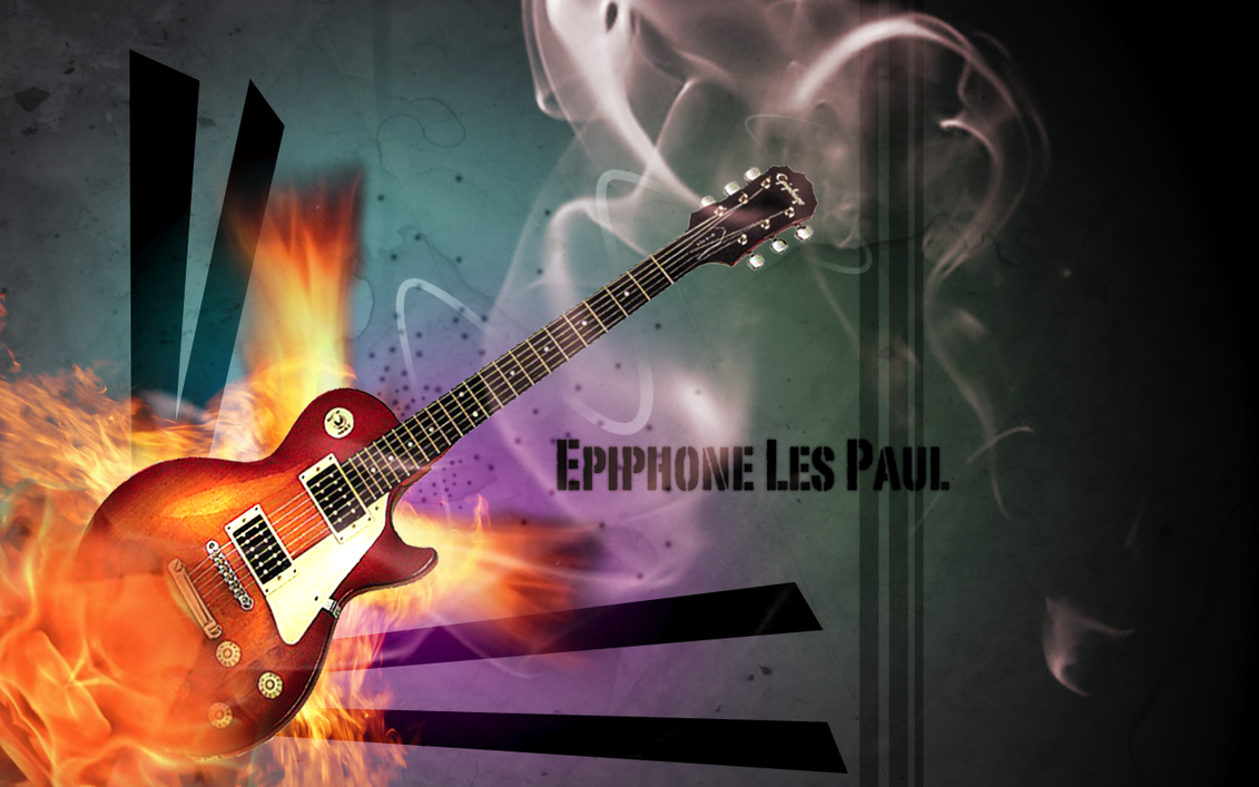 Epiphone Wallpapers: Epiphone Les Paul By Samurai207 On DeviantArt