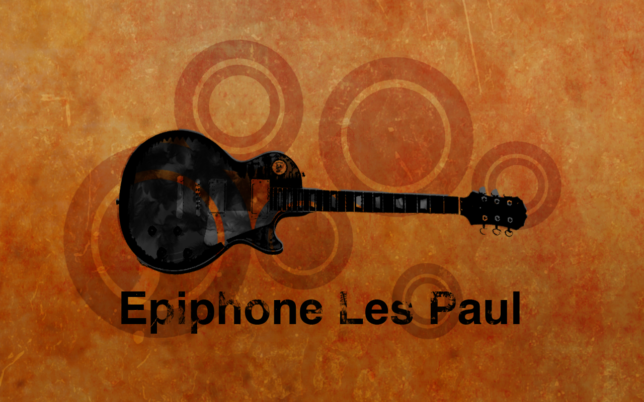 Epiphone Wallpapers: Les Paul Standard Wallpaper By Samurai207 On DeviantArt