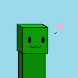 Creepers can be cute too