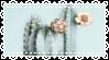 Pastel Mint Cactus - Stamp