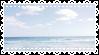 Pastel Blue Sea - Stamp