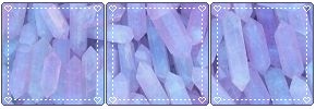 Lavender Crystals - Divider