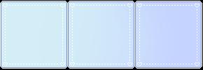 Pastel Blue Gradient - Divider by candlelit-deco