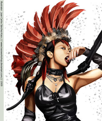 Koda Kumi Vector DDD Cover by Kassworkshop