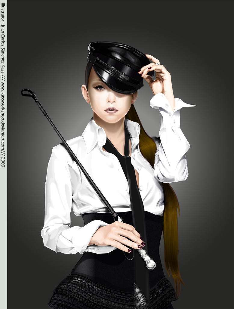 Namie Amuro Play cover vector by Kassworkshop