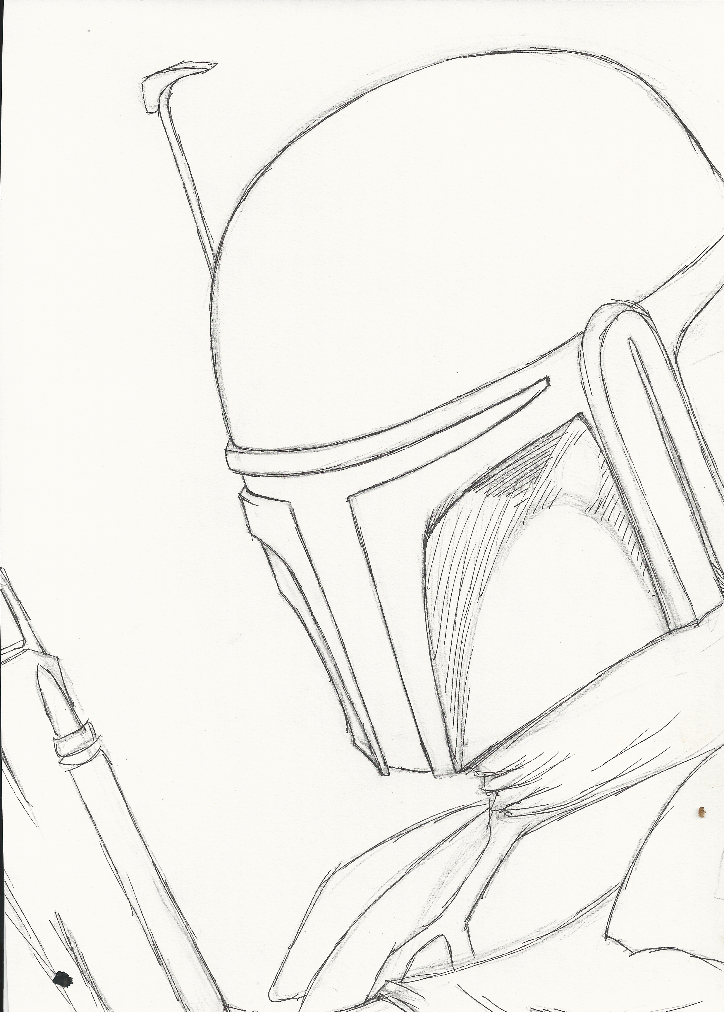 Mandalorian rough sketch by oswulf on deviantart mandalorian rough sketch by oswulf pronofoot35fo Images