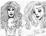 pen doodle 16 : scribbles at school