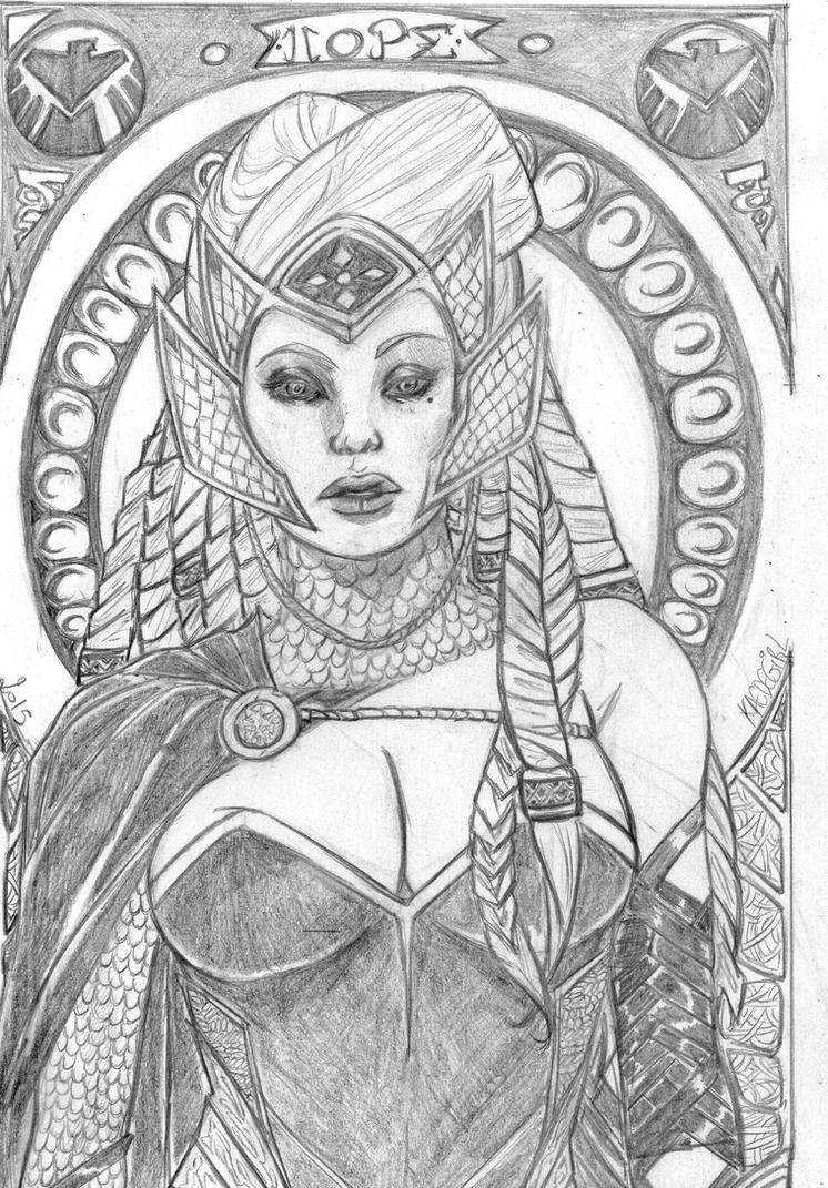Goddess of HOPE by Kaedegirl