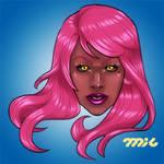 cheer up Kae! Heroes Head by MicQuestion