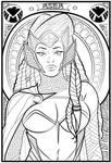 Asma   Lineart By Kira