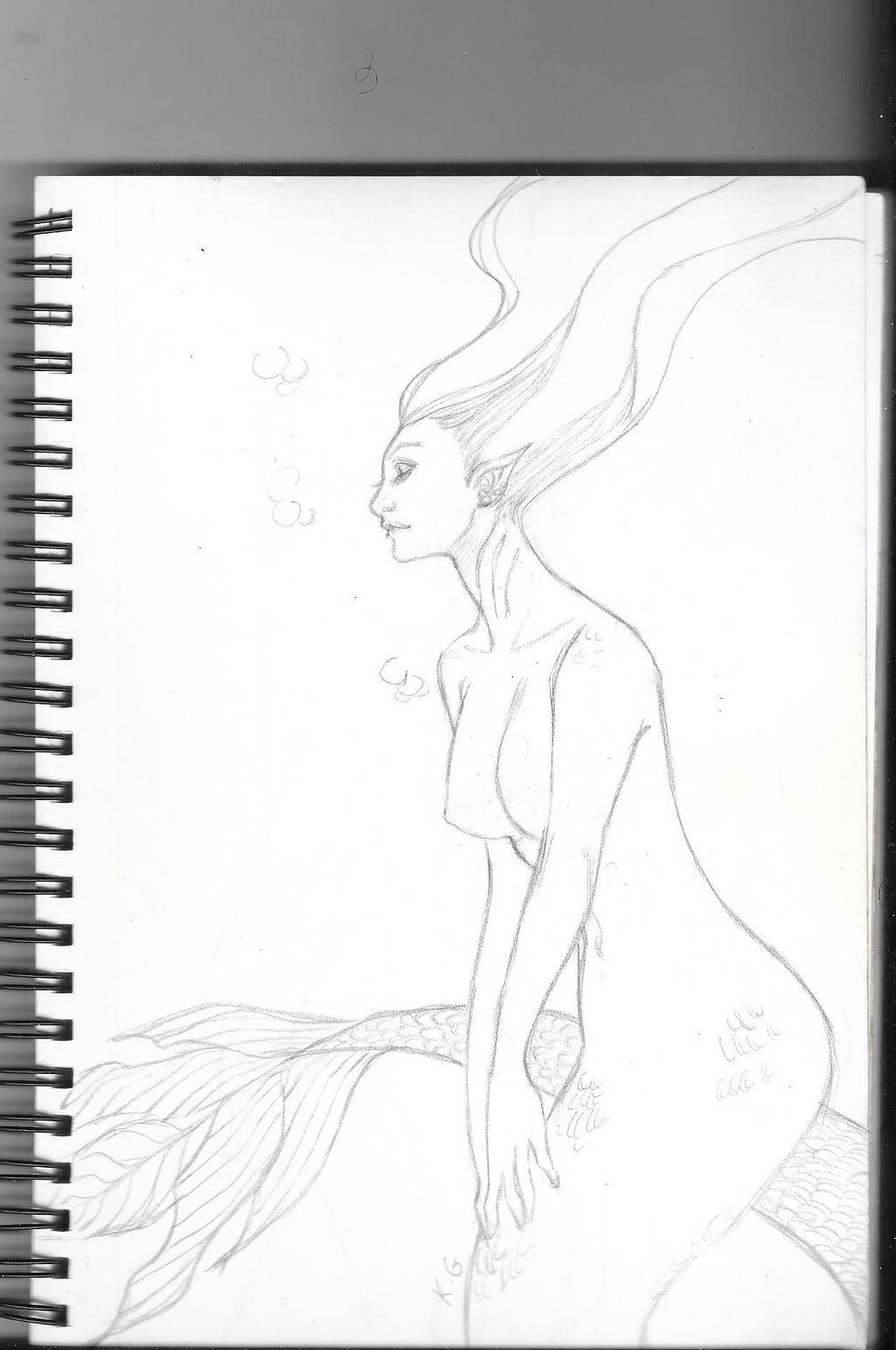 sketchbook 6: Mermay