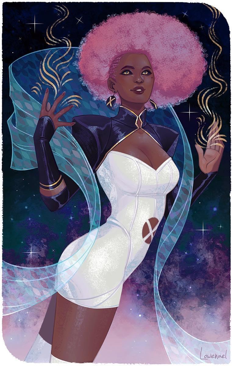 The Star by Lowenael