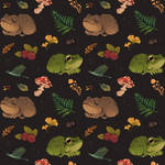 frogs and berries