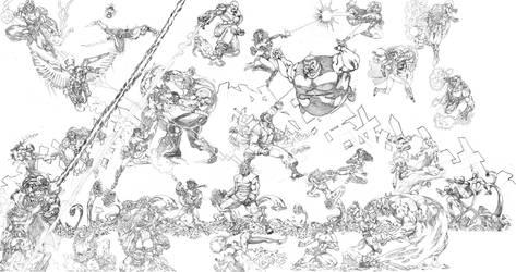 Marvel vs. DC by Atlas0