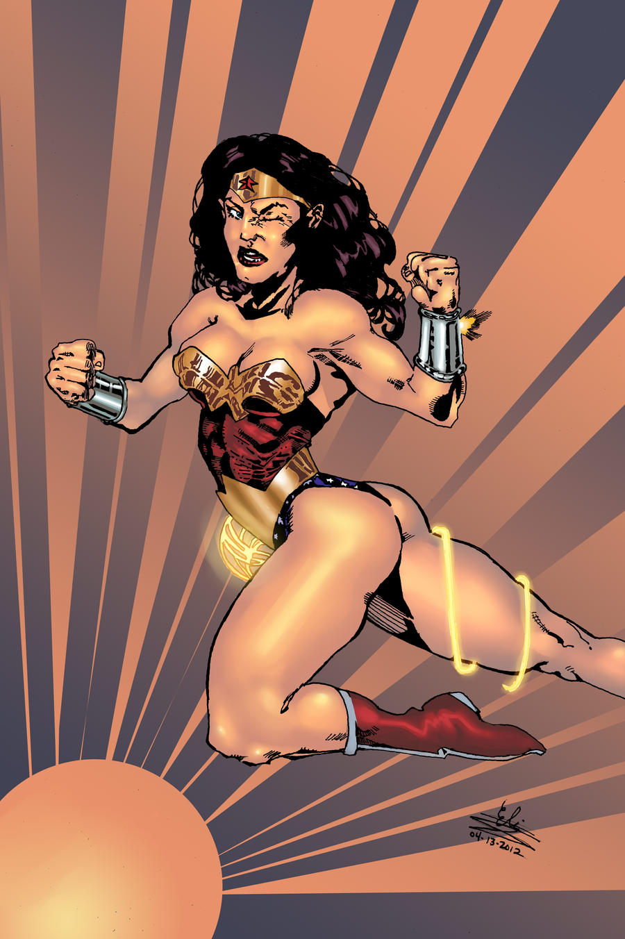 Wonder Woman vs... by Atlas0