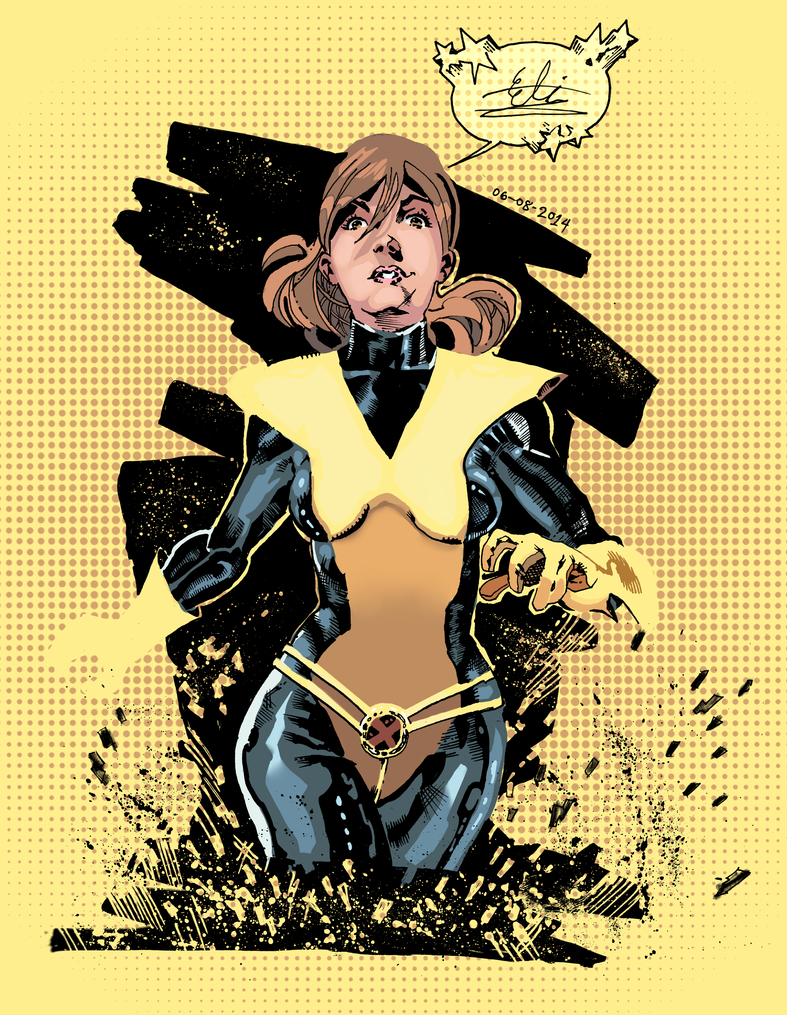 All New Kitty Pryde colored by Atlas0