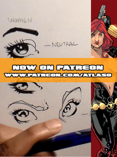 How to Draw Eyes (Now on Patreon) by Atlas0