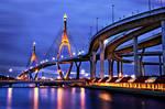 Bhumipol 2 Bridge by palmbook