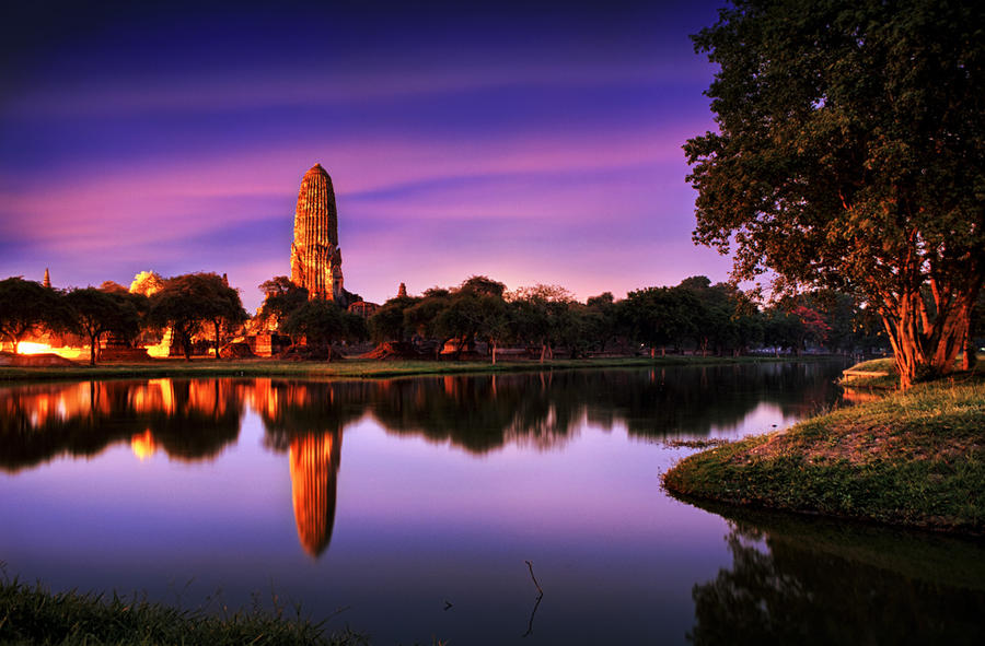 Rama Temple by palmbook