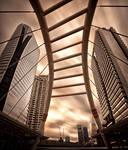 Sathorn Pedestrian Bridge by palmbook