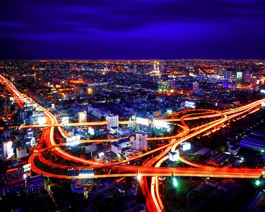 Vein of Bangkok by palmbook