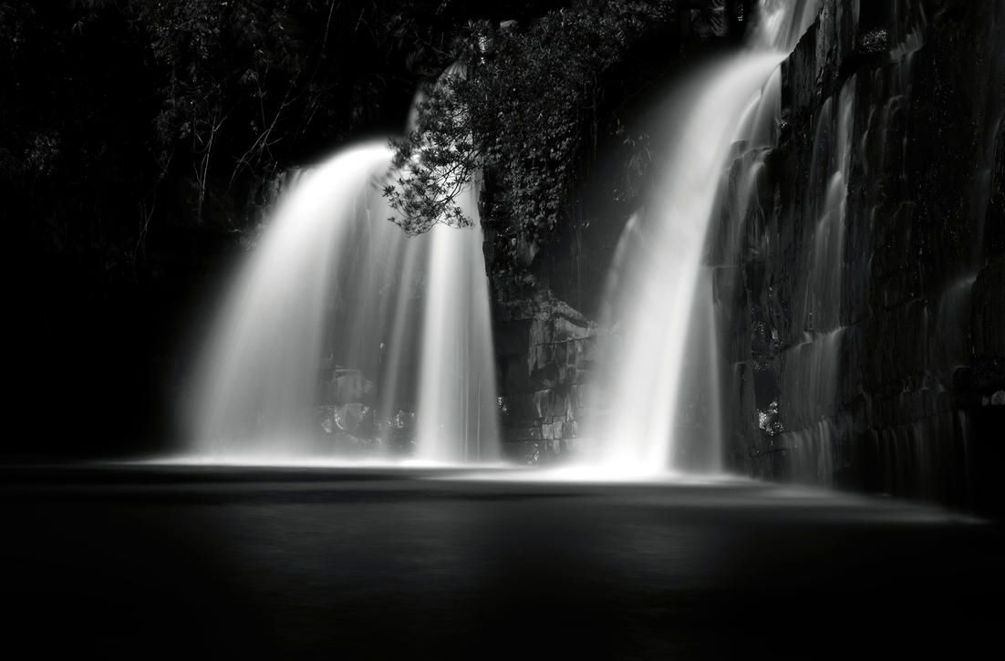 Sridit Waterfall by palmbook
