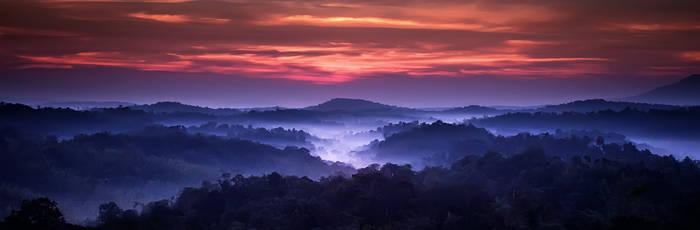 Sunrise at Nam Naw