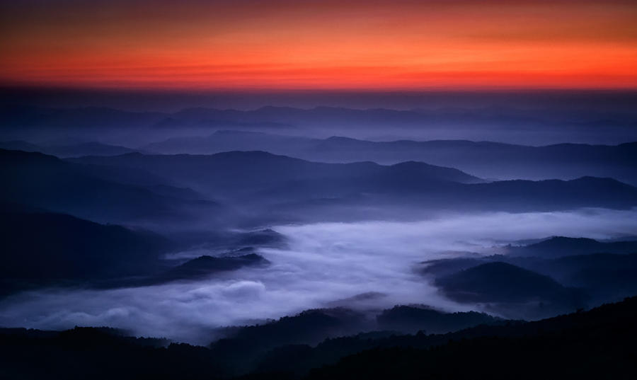 River of Cloud by palmbook